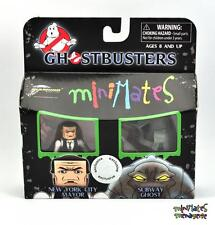 Ghostbusters Minimates TRU Wave 4 New York City Mayor & Subway Ghost