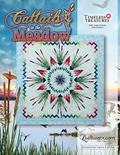 Cattails in the Meadow Paper Pieced Foundation Quilt Pattern by Judy Niemeyer