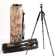 AU Q999s Aluminium Alloy Tripod Monopod Ball Head For Sony Canon DSLR Camera