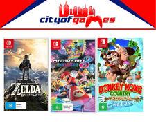 The Legend Of Zelda- Donkey Kong- Mario Kart 8 Deluxe Switch New In Stock