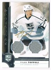 2016-17 Artifacts Autograph Materials Jersey Auto Silver #77 Tyler Toffoli 25/25