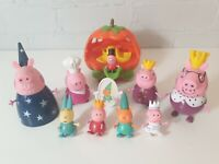 Peppa Pig Princess royal bundle King queen George pumpkin once upon a time