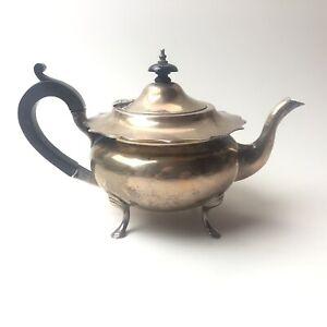 Sheffield Sterling Silver Teapot