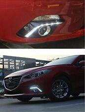 For Mazda 3 Axela 2014-2015 LED Daytime Running DRL Fog Light Turn Signal Lamp