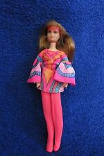 Vintage Mattel Rock Flower Doll - Lilac