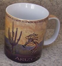 Coffee Mug Explore America Arizona and Kokopelli NEW 11 ounce cup with gift box
