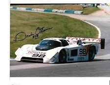 Autographed Drake Olson  IMSA  Racing Photograph