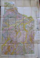 Soil Survey Illus. Color Folding Map Nevada County Arkansas Prescott Emmet 1929
