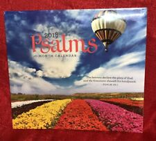 2018 Wall Calendar - PSALMS -12 Month- 12x24 Inches - NEW SEALED