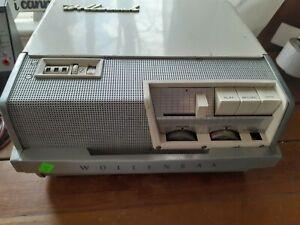Vintage WOLLENSAK 3M T-1500 TUBE Reel to Reel Player Recorder WORKS 2 speed
