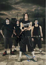 Bullet for My Valentine AUTOGRAFI SIGNED 20x30 cm immagine