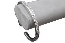 Estate Judith Ripka Sterling Silver Cuff Bracelet with Cubic Zirconia