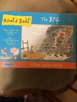 Gibson's Roald Dahl BFG Jigsaw 100 Pieces VGC G1p
