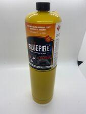 BLUEFIRE MAPP MAP PRO Gas Fuel Cylinder,16.1 oz, 14% Bonus, Hotter than Propane!