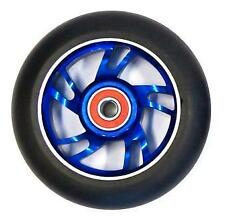 BulletProof Scooter Wheel - Alloy Metal Core - 110mm - ABEC 9 Bearings - BLUE