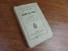 J.A. AMOUROUX / CASSONS LES VITRES Pamphlet  MARTIN BEAUPRE 1865