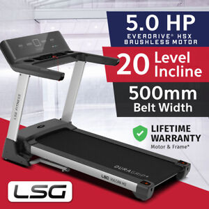 Genuine Lifespan LSG Series 500mm Belt Electric Treadmill Quiet Brushless Motor