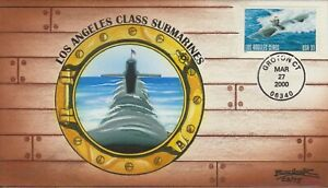 Beller FDC Cachet, Los Angeles Class Submarine First Day Cover, Envelope Art