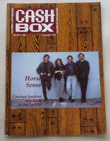 1990 CASH BOX MUSIC MAGAZINE PUBLICATION COVER- HORSE SENCE
