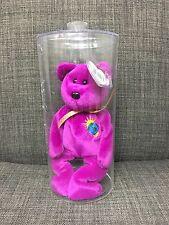 Ty Beanie Baby Millennium Bear Purple Boxed *NWT*