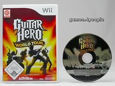 Guitar Hero: World Tour fu R Nintendo Wii