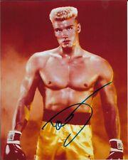 "DOLPH LUNDGREN ""Rocky"" Autographed 8 x 10 Signed Photo HOLO COA"