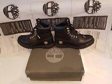 Timberland Boots Quartz Ltd Edition Size 7 Black Metal Gold Trim Primaloft 400 G