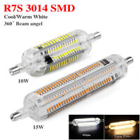 78mm 118mm Floodlight 10/15W Cool/Warm Halogen SMD3014 R7S LED Lamp