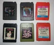 8-Track 6 tapes Elvis Cat Stevens Simon Garfunkel Kenny Rogers REO Speedwagon