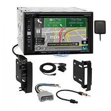 Pioneer 2018 Sirius GPS Stereo Dash Kit Harness for 2007-14 Chrysler Dodge Jeep