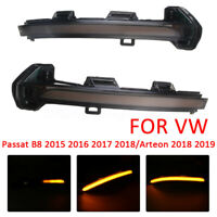 Dynamische Seitenspiegel Spiegelblinker Signallampe Für VW Passat B8 15+ Arteon