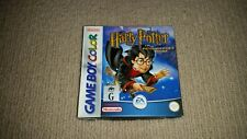 Harry Potter Philosophers Stone Nintendo Gameboy Color Game Boxed, New Battery