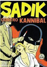 fumetto Noir SADIK CONTRO KANNIBAL - fuoriserie nuovo