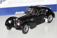 Solido Bugatti Atlantic tipo 54 SC coche modelo Oldtimer en miniatura automática negro 1:18