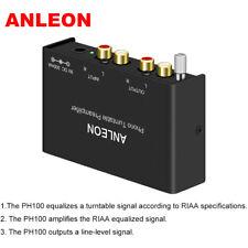 ANLEON Mini Audio Phono Preamp Preamplifier Phonograph Jensen Crosley Amplifier