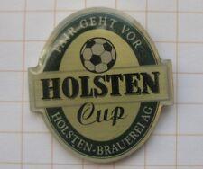 HOLSTEN CUP BRAUEREI / HAMBURG / FUSSBALL  ....... Bier-Pin (106f)