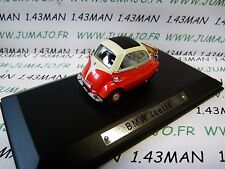 AK7 voiture 1/43 ixo atlas Auto Klassiker : BMW Isetta red rouge rot
