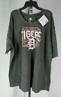 MLB Detroit Tigers Team Short Sleeved Shirt Grey 3XL T3