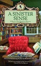 A Sinister Sense (A Raven's Nest Bookstore Mystery) Kingsley, Allison Mass Mark