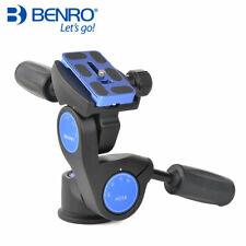 Benro HD Series 3-Way Pan tripod head HD3A Professional Magnesium Alloy Panhead