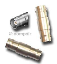 BNC Verbindung Verbindungsstück Kupplung Adapter, Buchse - Buchse * Rechnung *