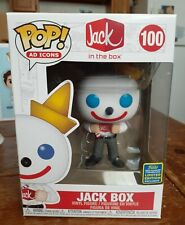 Funko POP Jack In The Box Ad Icons SDCC 2020 Exclusive IN HAND + Protector!!