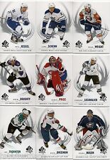 2009/10 SP AUTHENTIC COMPLETE 100 CARD BASE SET
