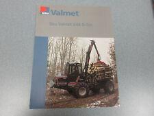 Valmet 644 8-Ton Log Loader Brochure 2 page