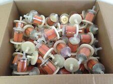 "(75) GKI GF61PL 5/16"" Plastic Gas Filter BULK CASE LOT fits G2 G12 GF61 33002"