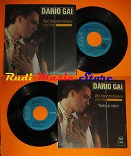 LP 45 7' DARIO GAI Noi che non diciamo mai Resta valzer 1990 italy EMI*cd mc dvd
