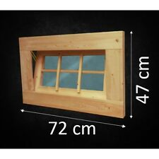Fenster Holzfenster Gartenhaus Gartenhausfenster Carport Garage  Badfenster NEU