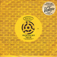 PEARL JAM - SPIN THE BLACK CIRCLE/NOT FOR YOU (2x 2-TRACK CARDBOARD CD- SINGLE)