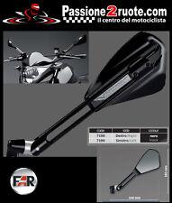 Specchietti manubrio universal moto naked VIPER nero