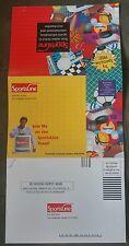 1995 Joe Namath SportsLine.com Advertising Mailer Netcom NFL New York Jets RARE